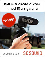 Rode Video Mikrofon og VideoMic Pro+